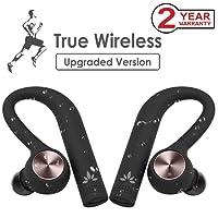 Avantree [Upgraded] IPX5 Wasserdicht TWS True Wireless In Ear Kopfhörer, Sport Ohrhörer, Kabellos Stereo Bluetooth 4.2 Laufen Funkkopfhörer, Wireless Dual Inear Headset mit Mikrofon - TWS109