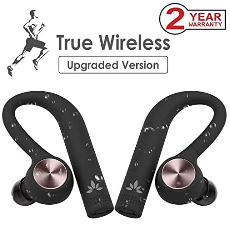 Avantree TWS109 TWS True Wireless Auriculares Inalámbricos IPX5 Impermeables a Prueba de Sudor, In Ear