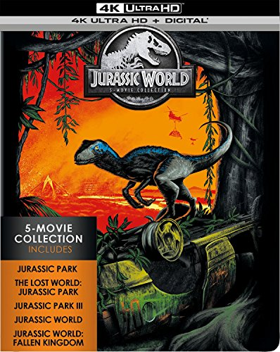 VHS : Jurassic World: 5-Movie Collection [Blu-ray]