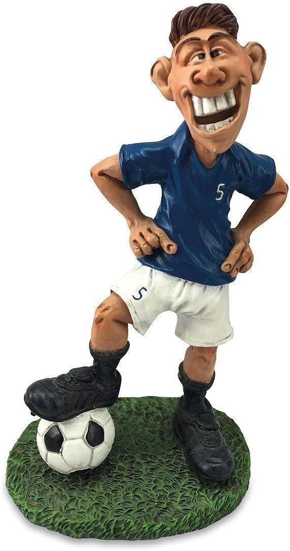 Alpes Funny Job Comic – Figura Decorativa (Figura Futbolista futbolín con Rostro Trenes de 18 cm: Amazon.es: Juguetes y juegos