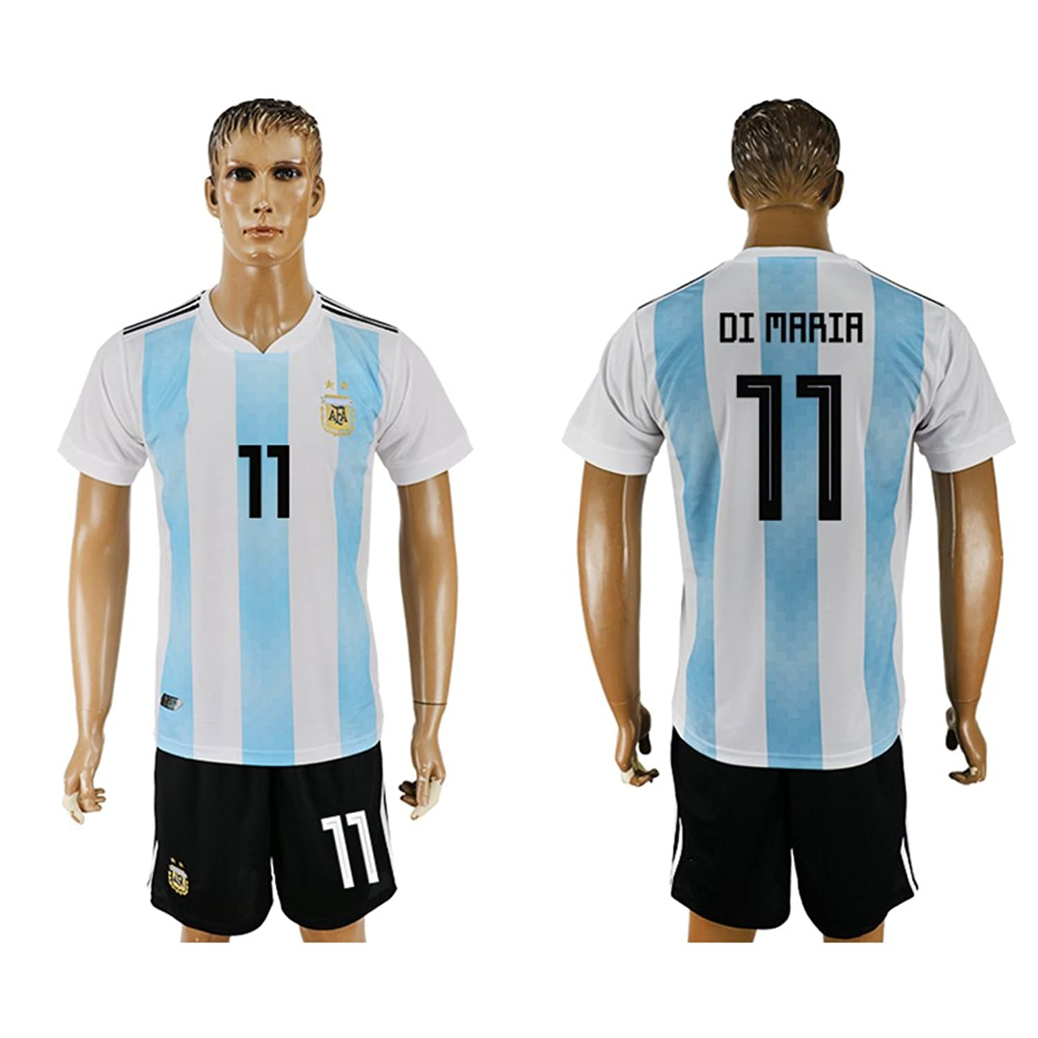 2018 World Cup Argentina National Team #11 Soccer Jersey supplier