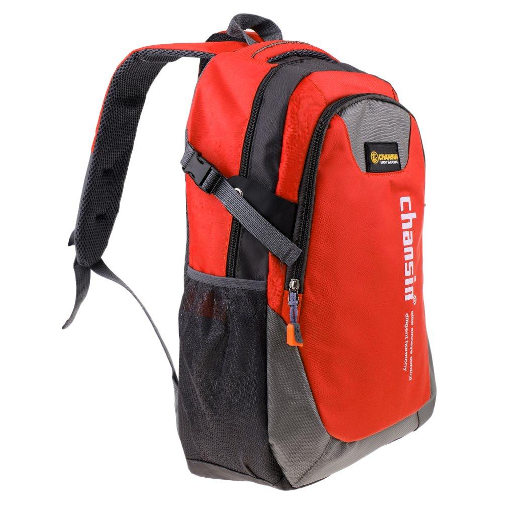 MagiDealアウトドア防水バックパック登山ノートパソコン旅行バッグ20 – 35l 5色  オレンジ B07CVCDJJ4