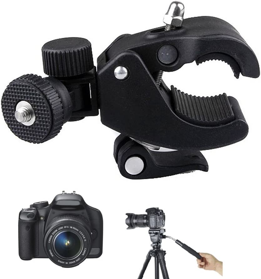 zzpp Camera Super Clamp Tripod Clamp for Holding LCD Monitor//DSLR Cameras//DV Tool New