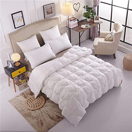 Mxk Ultra Soft Duvet Cover Thick Down Core Down Duvet Soft Easy Care Hotel Family Bedding Color White Size 200x230cm Amazon Co Uk Kitchen Home