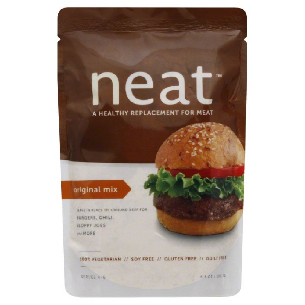 NEAT VEG BURG MIX ORIGINAL, 5.5 OZ by Neat Foods