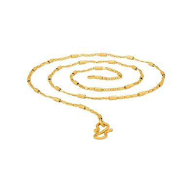 50cb7e14935aa Voylla Chain for Men (Golden)(8907617488301)  Amazon.in  Jewellery