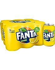 Fanta Refresco de Limon - Paquete de 9 x 330 ml - Total: 2970 ml