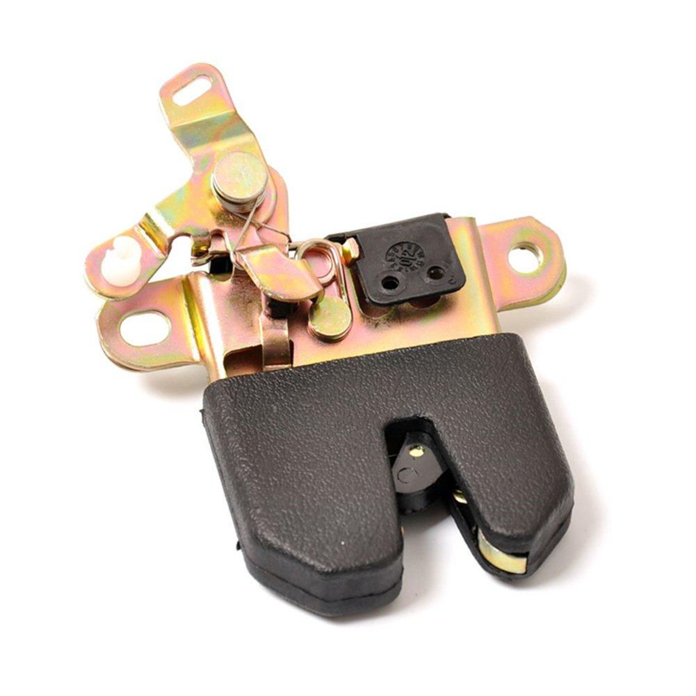 Fashionwu Plastic + Metal Car Rear Trunk Latch Lock Actuator for 1998-2005 Passat OEM 3B5827505M