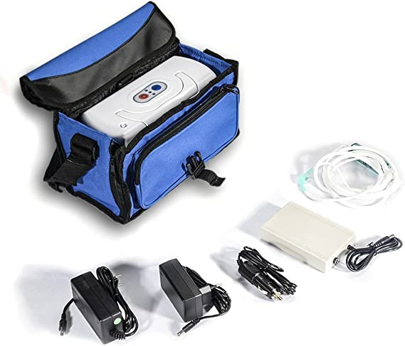 Concentrador de Oxigeno Portatil Máquina de Generar Oxígeno Ozonizador Purificador Ionizador Doméstico Hogar Portátil de Vida Saludo: Amazon.es: Salud y cuidado personal