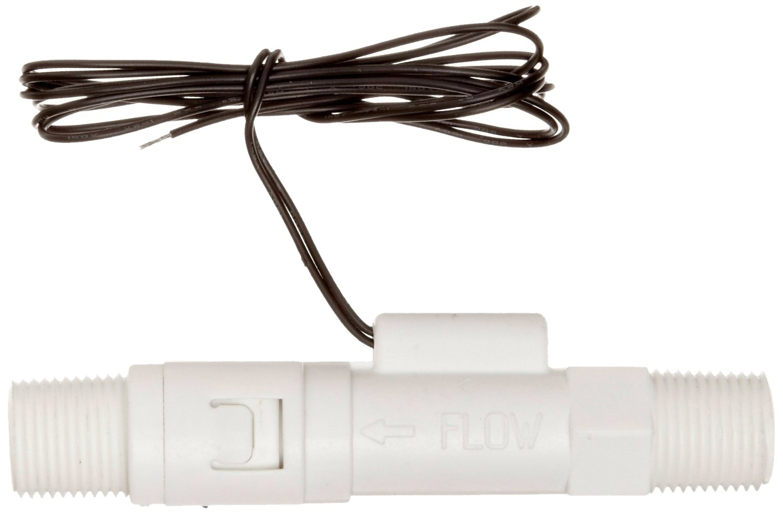 Gems Sensors FS-380P Series Polypropylene Flow Switch, Inline, Piston Type, 1 gpm Flow Setting, 3/8'' NPT Male by Gems Sensors (Image #2)
