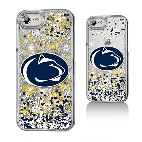 Penn State University Gold Glitter Case for the iPhone 6 / 6S / 7 / 8 NCAA (Penn State Iphone Case)