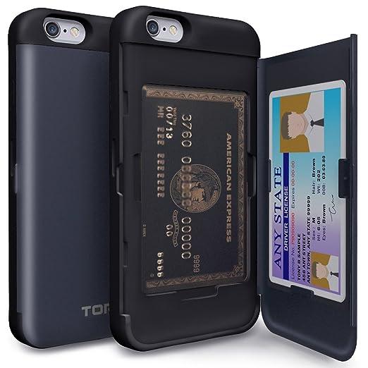 6 opinioni per Cover iPhone 6s, TORU [CX PRO] Custodia a portafoglio per iPhone 6 [Inserto per