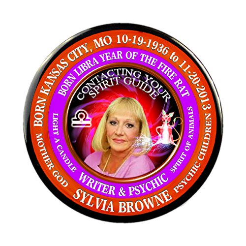 2013 Campaign Buttons - Sylvia Browne Writer 3