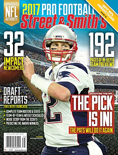 Street & Smith's NFL 2017 Yearbook Region 1