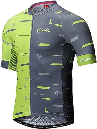Hombre Equipo Verano Maillot De Ciclismo Ciclismo Racing Team Camisa Manga Corta
