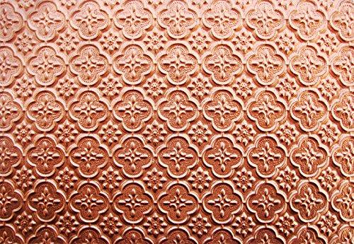 Euro-Deco Ceilings, Inc. WC20 25' x 2' PVC Backsplash - Copper
