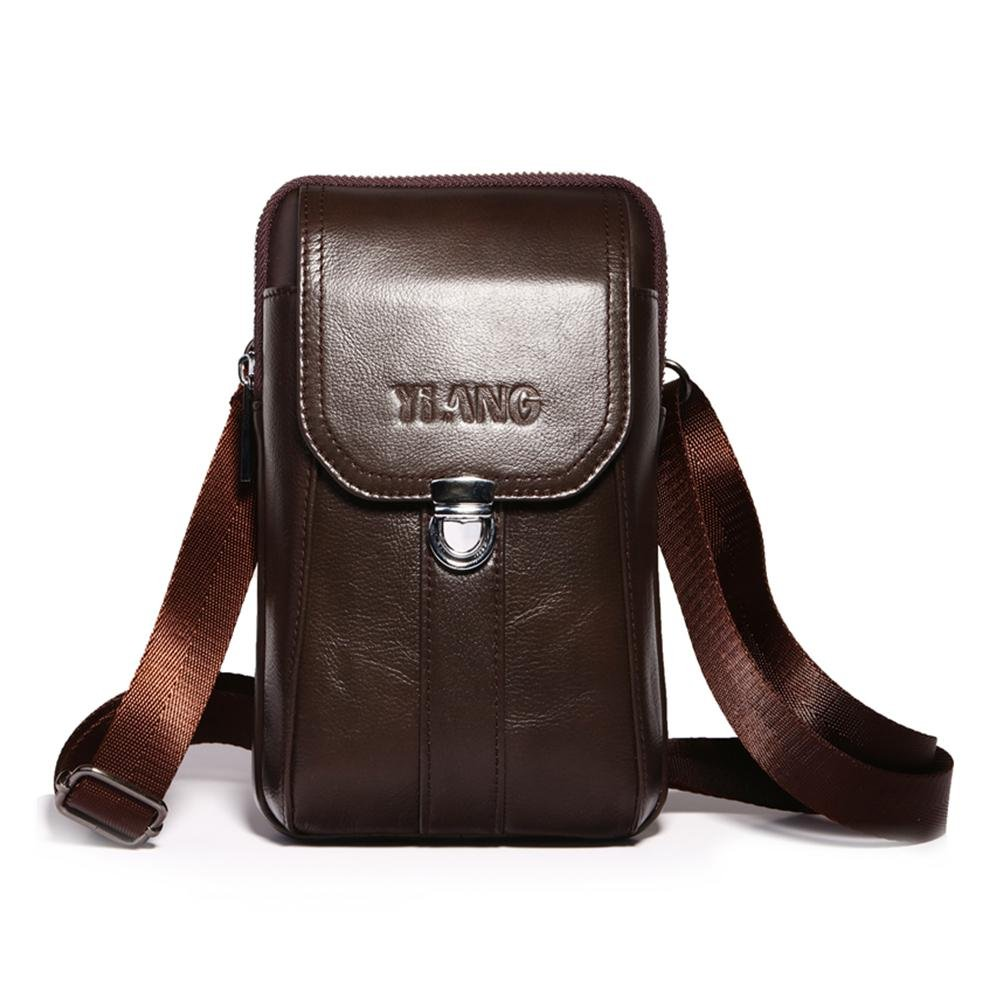 AOLVO Small Crossbody Bags for Men 0d24639144b6b