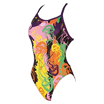 fac4a72f58007 Arena Underwater One Piece (bunt) - Women's Swimming Costume: Amazon ...