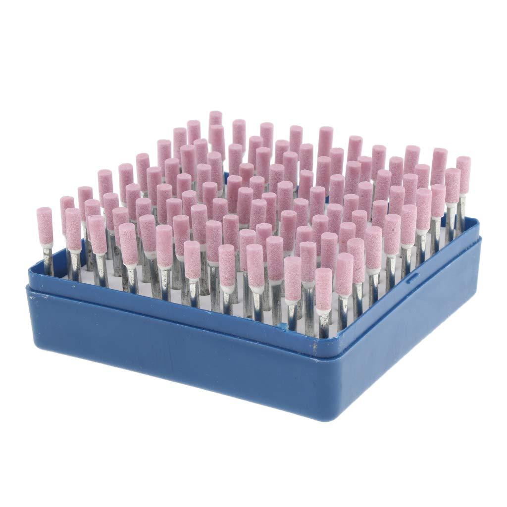 perfk 100pcs Bavures Meulage de Pr/écision pour lAff/ûtage Rapide et Facile des Lames de Tron/çonneuse violet 6mm