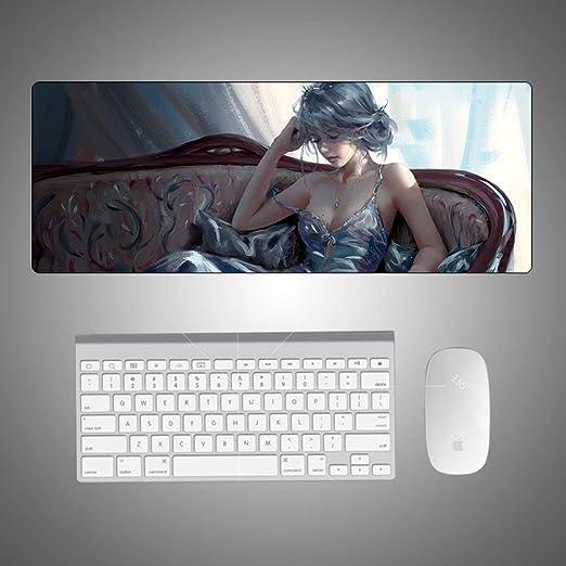 Cuchillo fantasma princesa de hielo alfombra de mesa creativa de ...