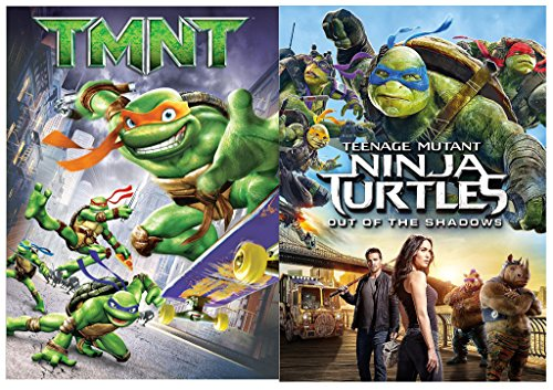 Teenage Mutant Ninja Turtles: Out of the Shadows & TMNT DVD Movie Hero Bundle Set