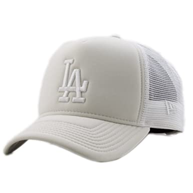 0f6dc63d New Era Womens Essential Trucker A-Frame LA Dodgers Cap Stone OSFA ...