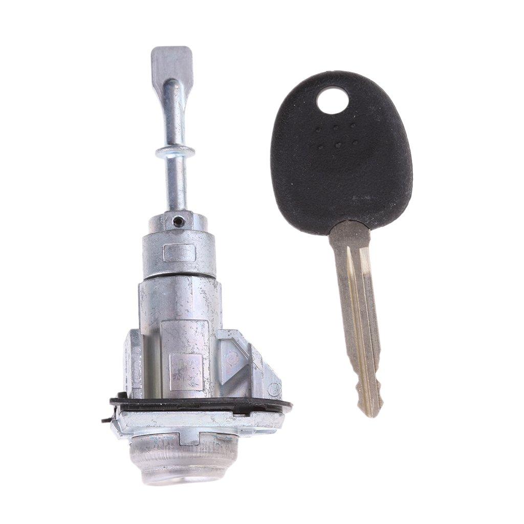 Gazechimp Left Front Door Lock Auto Car Practice Lock Cylinder With Car Key For Kia