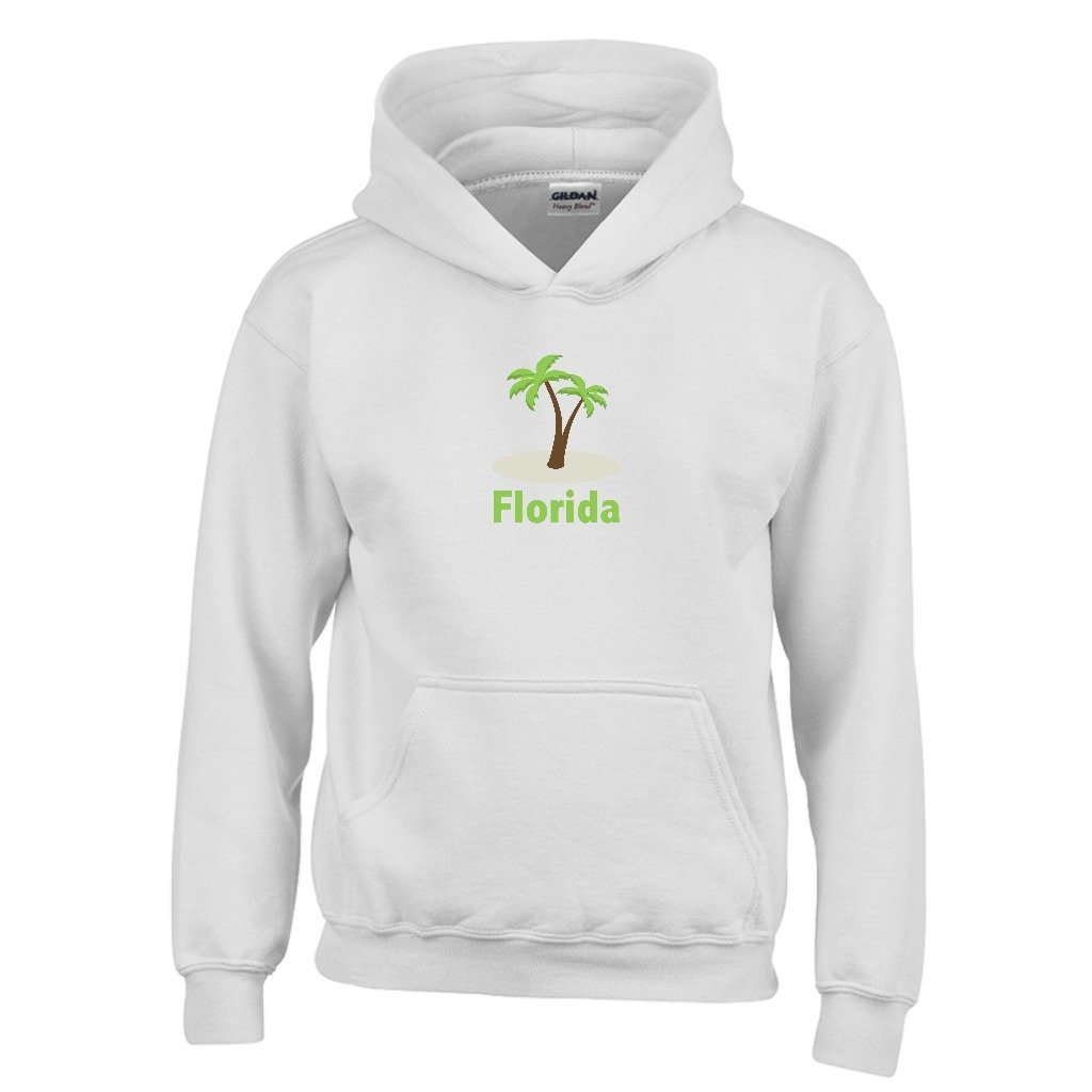 Kids Sweatshirt Tenn Street Goods Florida Palm Tree Youth Hoodie