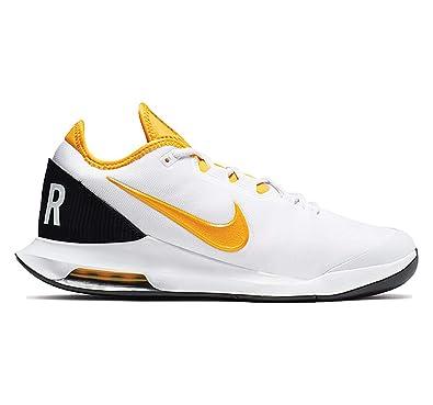 9c1d3a6452733 Nike Men's Air Max Wildcard Tennis Shoes (7 D US, White/University Gold