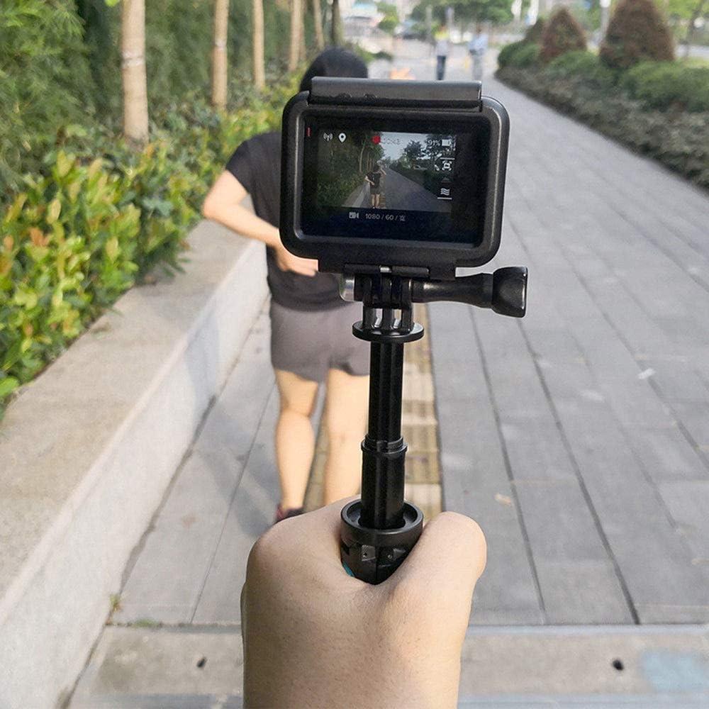 RONSHIN Mini Portable Extension Pole Handheld Self-Pole Shorty Go Pro Tripod Monopod Stick Mount for Gopro Action Cameras
