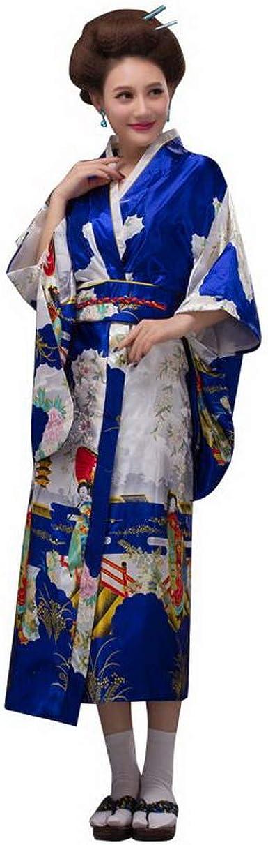 Blue japanese yukata  bath robe