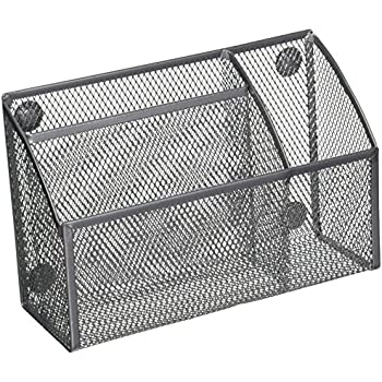 Amazon Com Design Ideas Mesh Magnet Organizer Silver