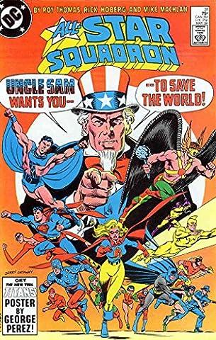 All-Star Squadron #31 FN ; DC comic book (Dyna Sander)