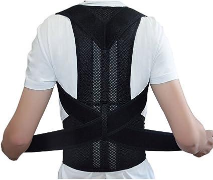 Correcteur de soutien posture arrière thérapie d/'épaule réglable hommes
