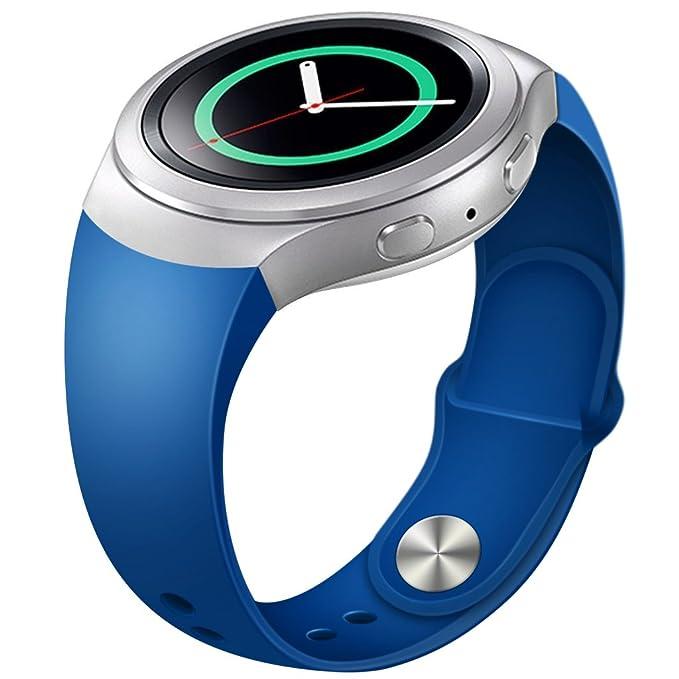 Henoda Reemplazo Banda para Samsung Gear S2 R720 Reloj ...