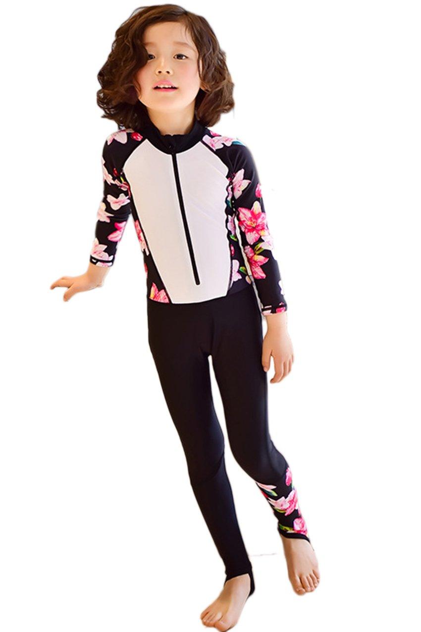 65f9495618 Chinabrands.com: Dropshipping & Wholesale cheap Labelar Rashguard Long  Sleeve Kids One Piece Swimwear Full B online.