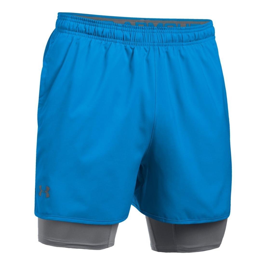 Under Armour Mens Qualifier 2-In-1 Shorts