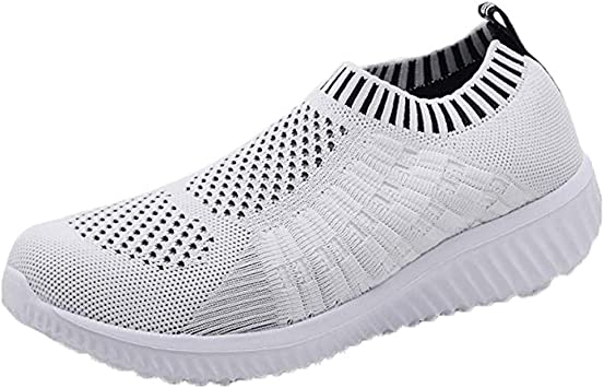 Women Mesh-Comfortable Athletic Shoes