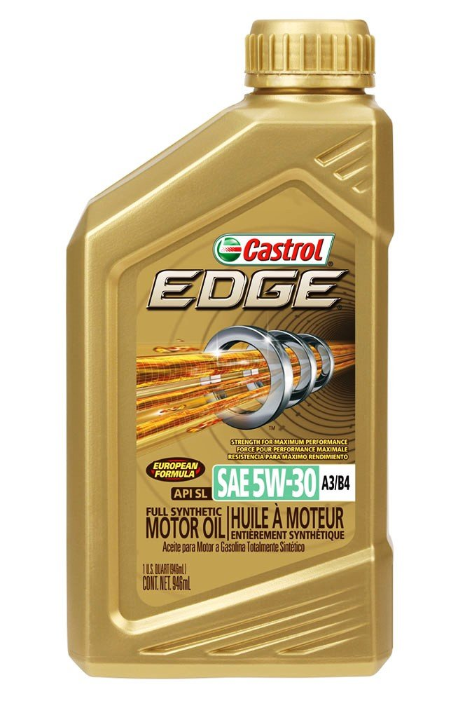 castrol edge gold 5w30 a3 b4 any info on this passenger car motor oil pcmo gasoline. Black Bedroom Furniture Sets. Home Design Ideas