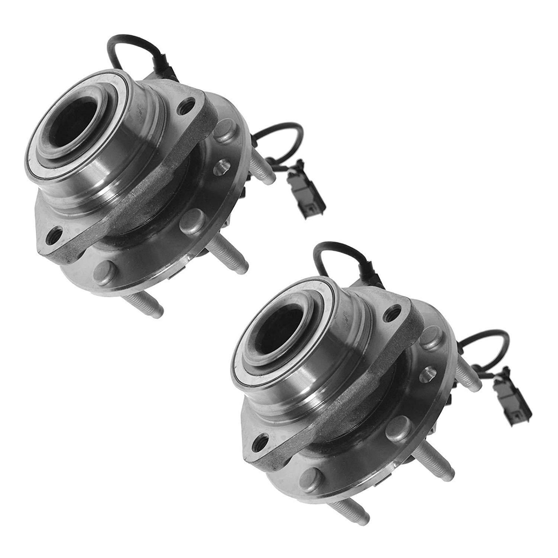 Bodeman - Pair (2) Front Wheel Hub & Bearing Assembly w/ABS for Chevy Trailblazer EXT SSR GMC Envoy XL Buick Rainier Olds Bravada Saab 9-7X 513188 x2 by Bodeman