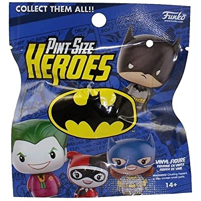 Funko Pint Size Heroes Vinyl Figure - DC Series 1 - Blind Pack (1 Random Character): Funko Pint Sized Heroes: Toys & Games
