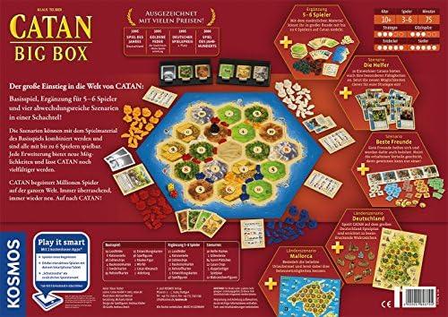 KOSMOS Catan 693725 - Big Box (versión en alemán): Teuber, Klaus: Amazon.es: Juguetes y juegos