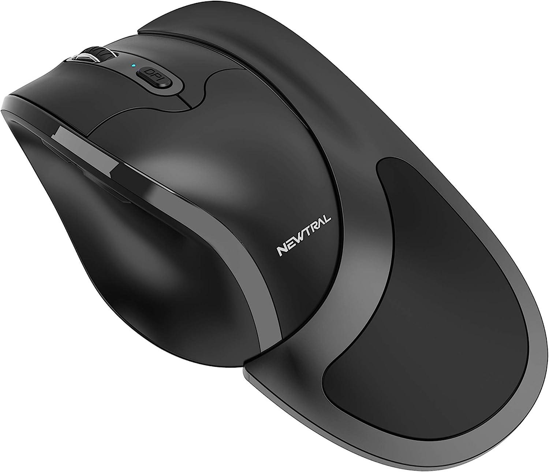 Newtral Small Size Semi-Vertical Wireless Ergonomic Mouse