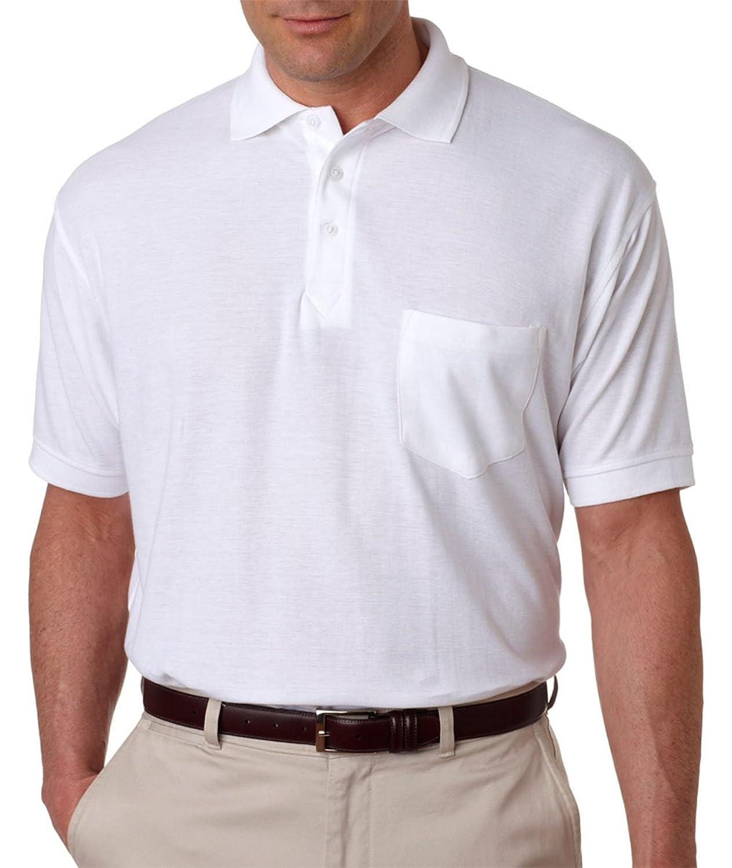 Ultra Club Men's Sport Polo Shirt, S, Kelly