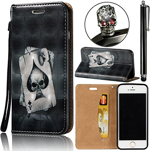 Ultra Slim Carcasa LG G Stylo LS770 / LG G4 Stylus Funda Libro Suave PU Leather Cuero- Sunroyal ® Bookstyle Flip Cobertura Wallet Plegar Case Cover Con Cierre Magnético,Función de Soporte Stand y Bill A-04