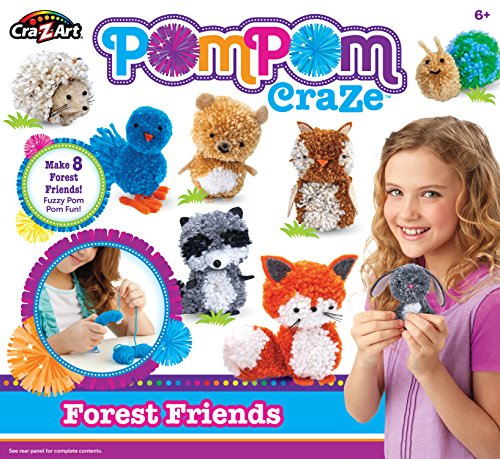 est Friends Crafts Kits (82 Piece) (Forest Animal Craft)