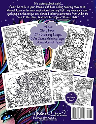 Amazon.com: I Dream in Color: An Inspirational Journey Coloring ...