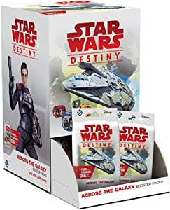 FFG Star Wars Destiny: Across The Galaxy Booster Pack Display (36)