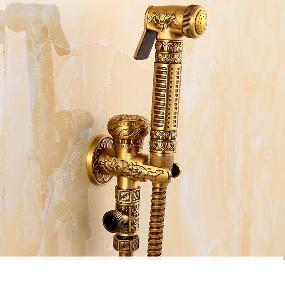 Eeayyygch Alle Kupfer WC-Bidet Spritzpistole Bidet   Flusher-A (Farbe   -, Größe   -)