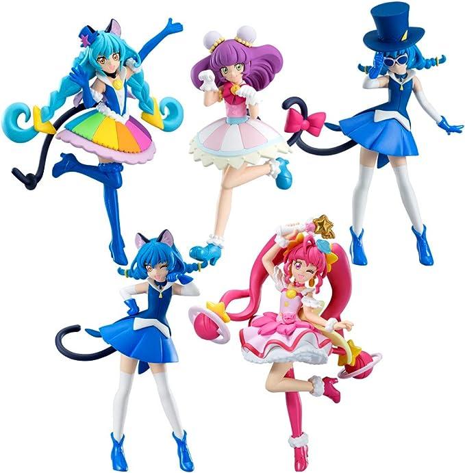 Glitter Kirakira Precure La Mode Cutie Figure 3 Set Candy Toy Japan